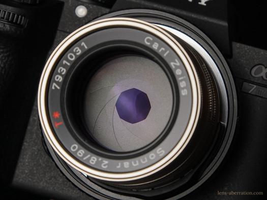 CONTAX G Sonnar T* 90mm F2.8