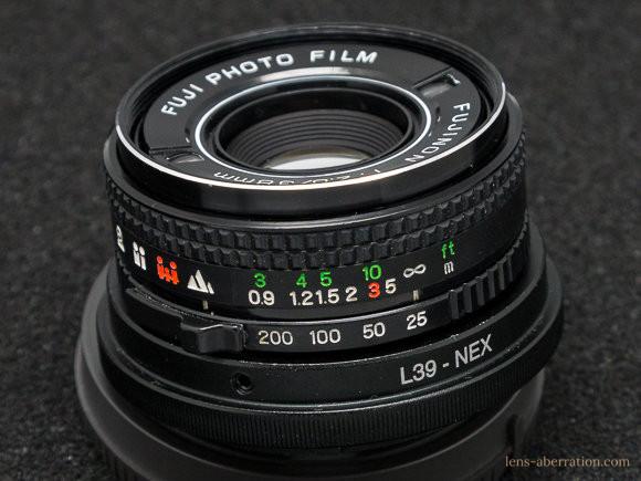 Flash fujica-Fujinon 38mm F2.8