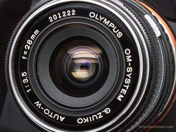OLYMPUS OM G.ZUIKO 28mm F3.5
