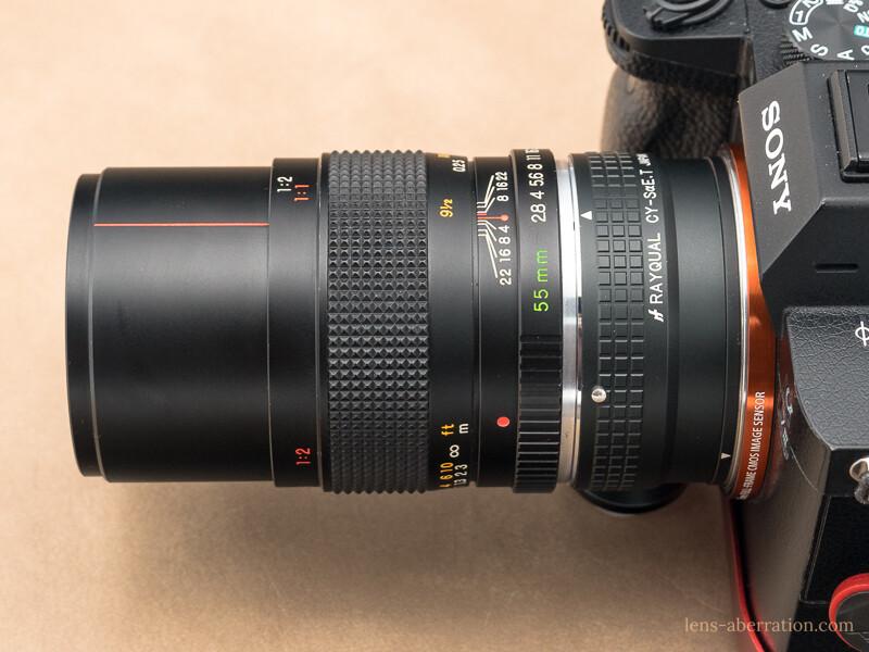 YASHICA ML MACRO 55mm F2.8